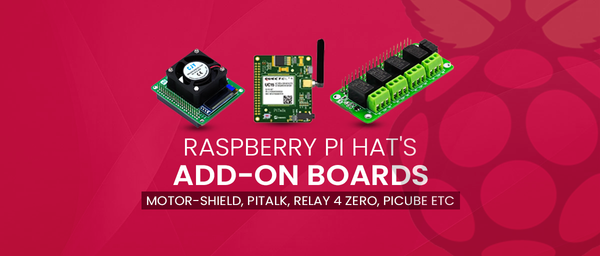 Raspberry Pi HAT's Add-on Boards - SB Components
