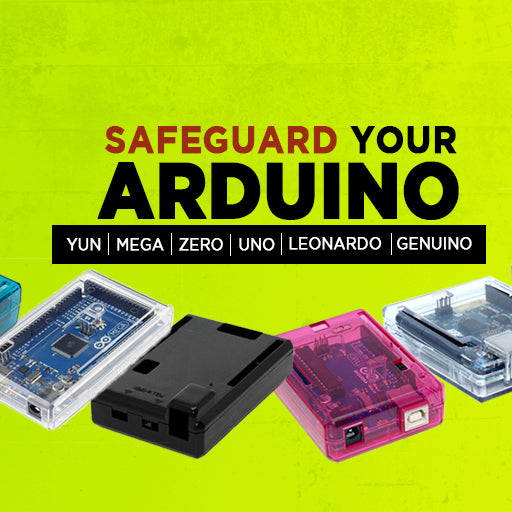 Safeguard your Arduino with elegant and innovative cases