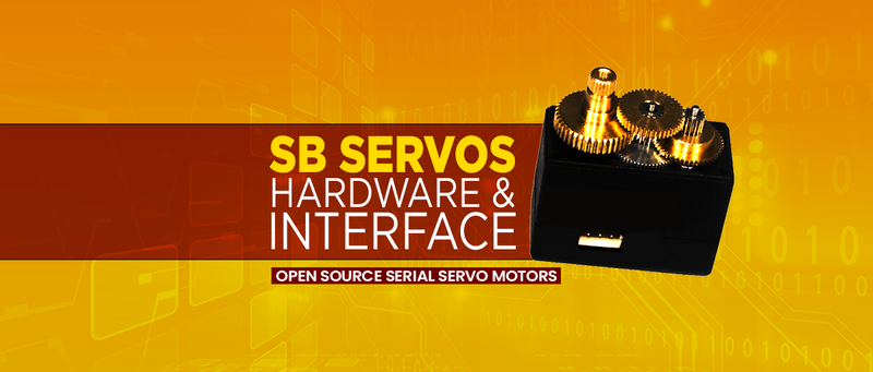SB Servo Hardware and Interface -SB Components