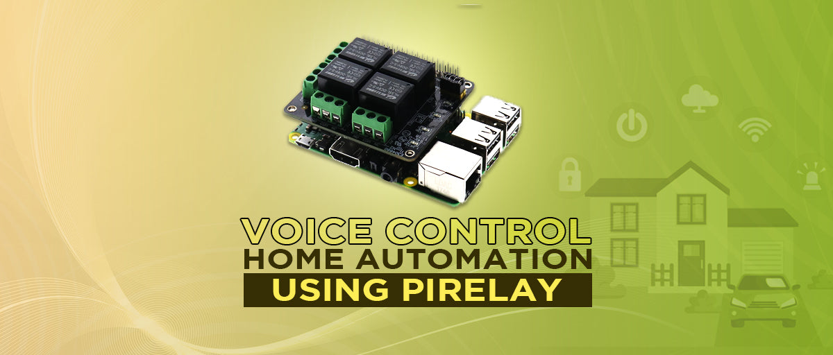 Voice Control Home Automation using PiRelay