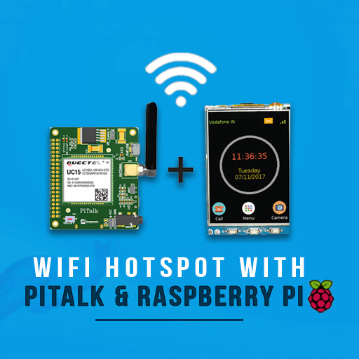 Make Hotspot using PiTalk and Raspberry Pi