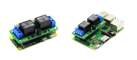 2 Channel Relay Board for Raspberry Pi