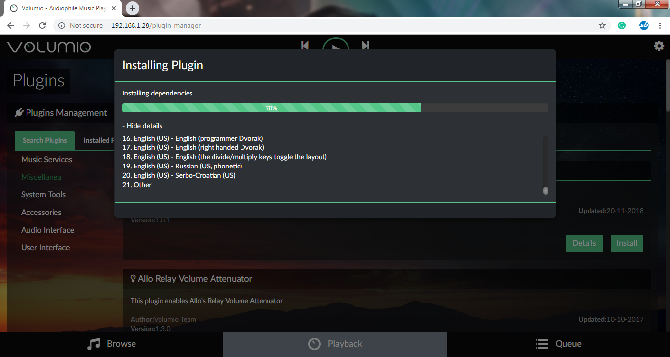 Turn Your Raspberry Pi into a Music Player using Volumio