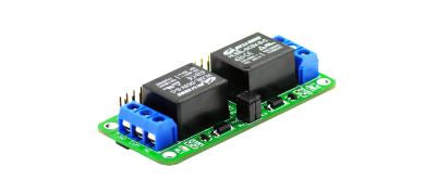 2 Channel Relay for Raspberry Pi