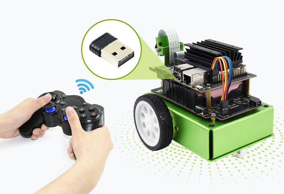 Jet Bot Gamepad Teleoperation Plug And Play, Easy To Use
