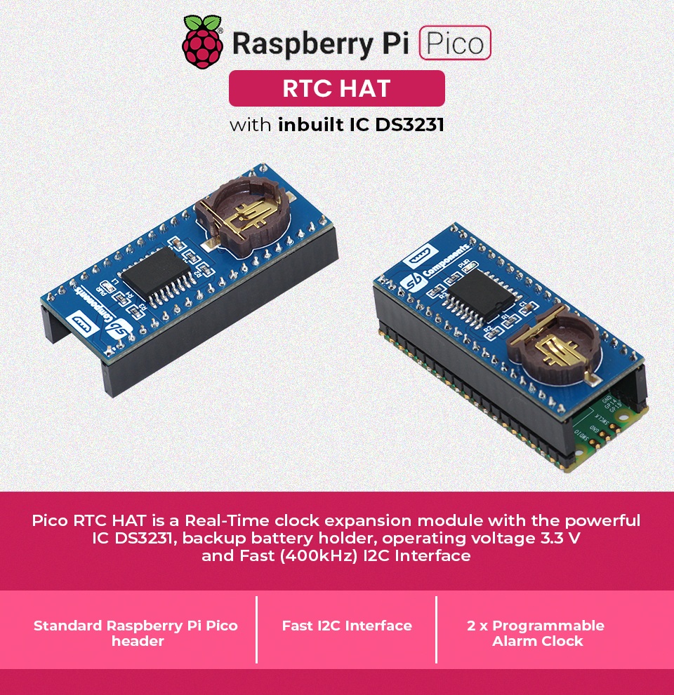 real time clock for Pico