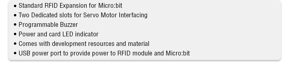 RFID Expansion for BBC microbit