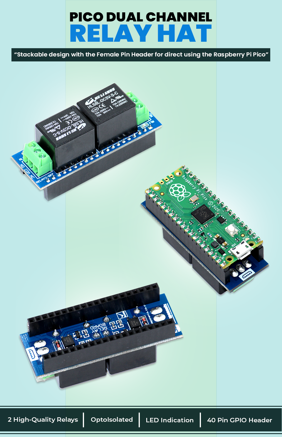 Pico Dual Channel Relay Banner