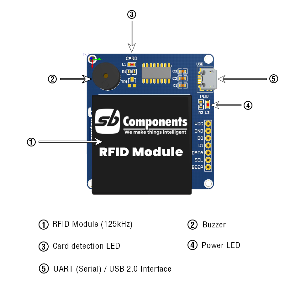 RFID for Arduino