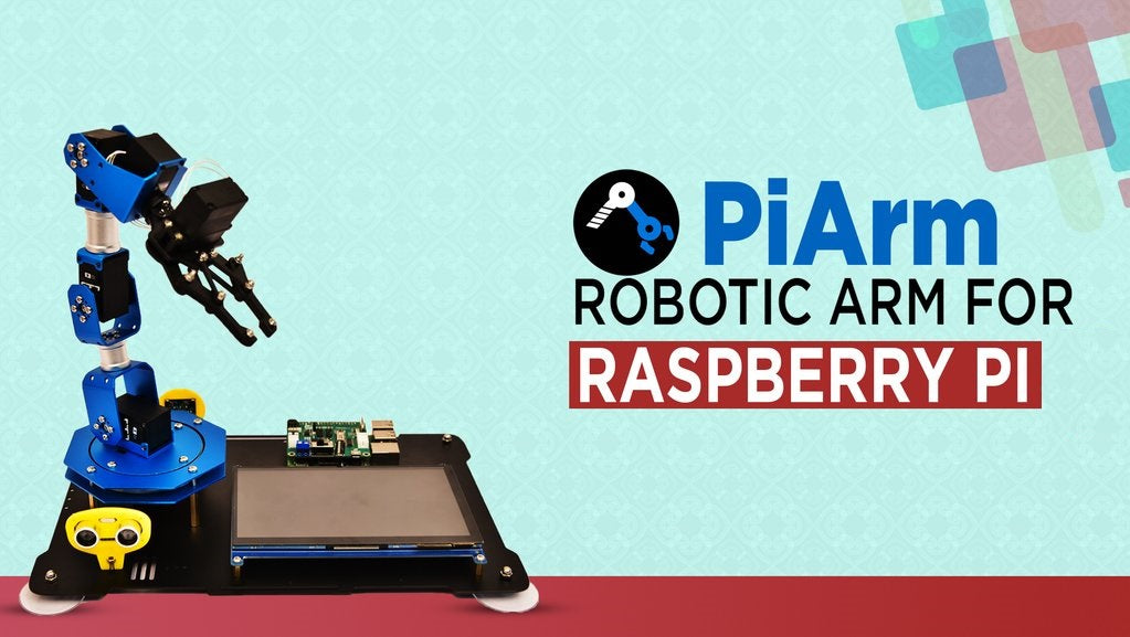 DIY Robotic Arm for Raspberry Pi