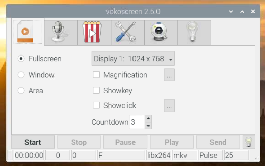Screen Recording in Raspberry Pi - SB Components