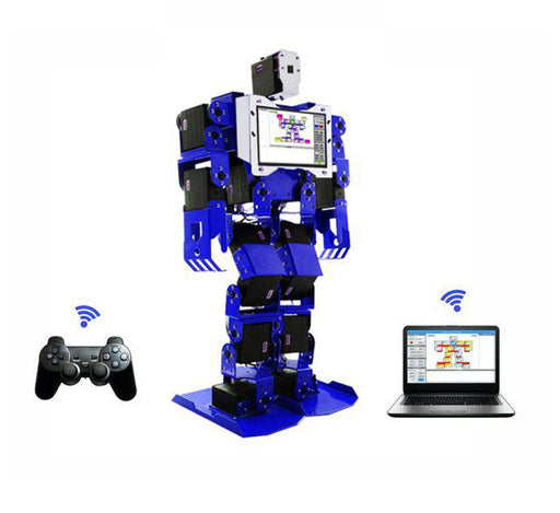 PiMecha - 17 DoF Humanoid Robot with LCD+camera (Assembled) *