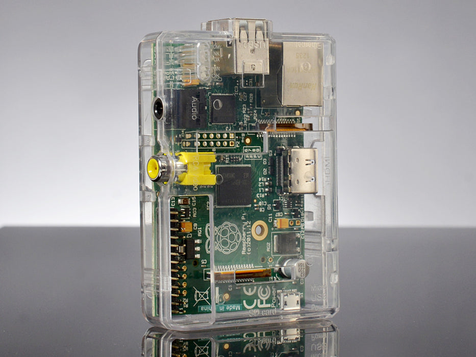 Raspberry Pi Model B Clear Case