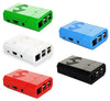 PiShell: Multi Color Case for Raspberry Pi & Camera (Set of 5 cases)