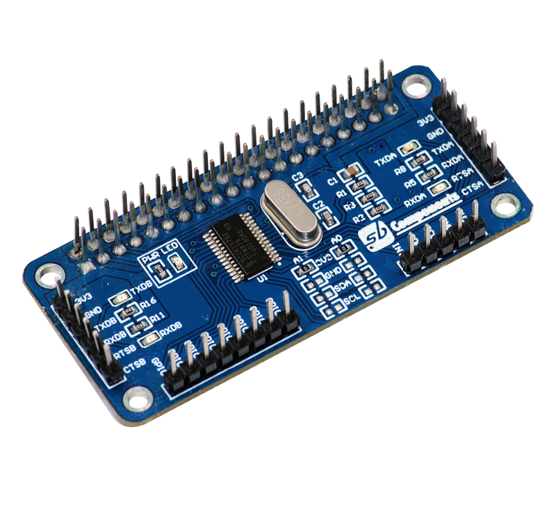 Serial Expansion HAT for Raspberry Pi