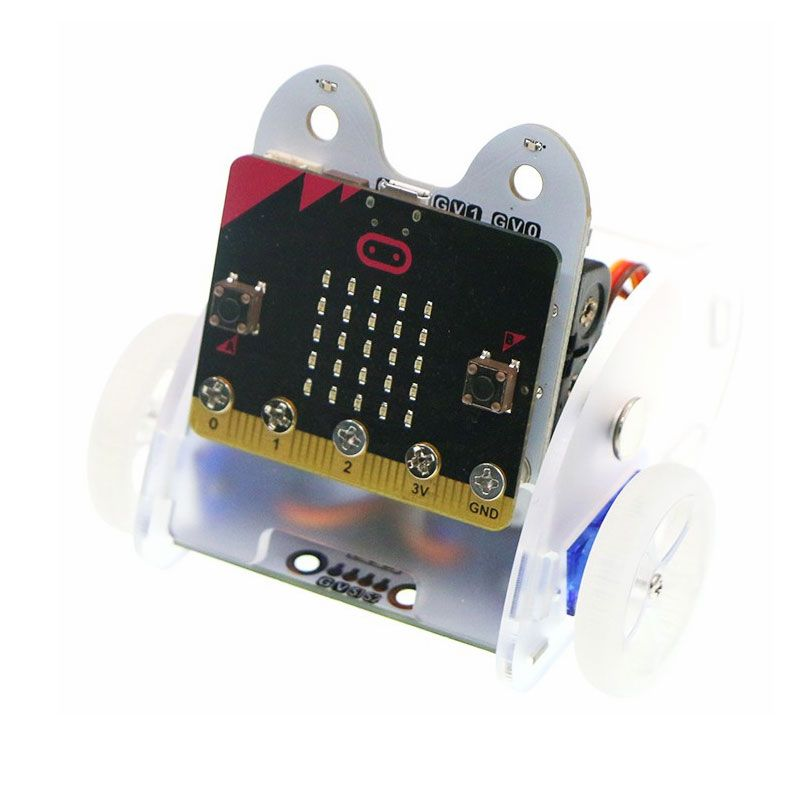 Ring:bit Car - BBC Micro:bit Smart Robot Buggy Kit