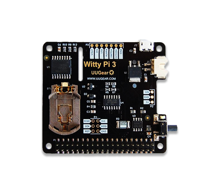 Witty Pi 3: Realtime Clock and Power Management for Raspberry Pi