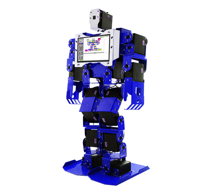 PiMecha - 17 DoF Humanoid Robot with LCD and Camera (Unassembled)
