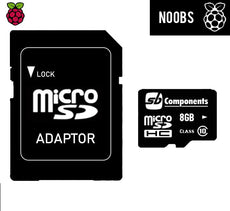 NOOBS Pre-loaded MicroSD Card