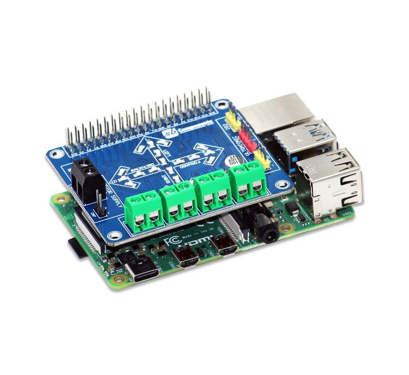 Motor Driver for the Raspberry Pi
