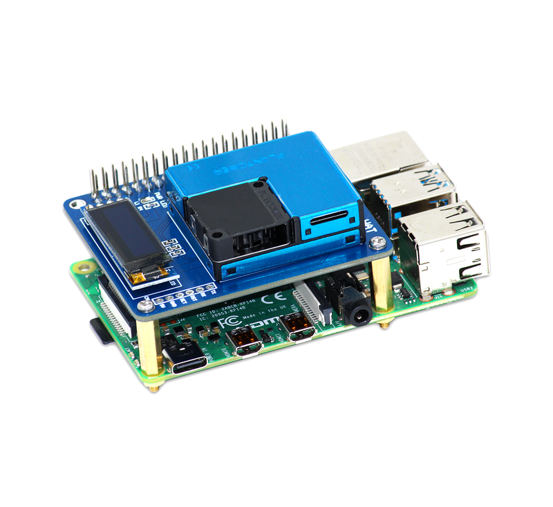 Air Monitoring HAT For Raspberry Pi