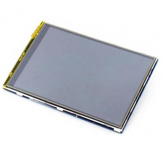"3.5"" LCD (B) (320×480), IPS, Resistive touch"