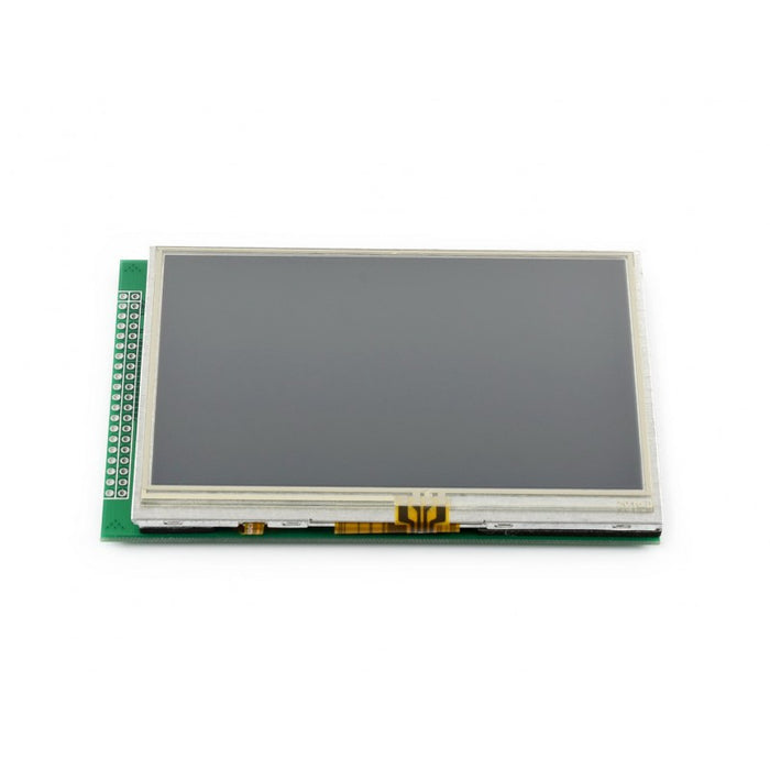 "4.3"" Touch LCD (A) (480x272), DOTS Multicolor Graphic LCD, with touch screen"
