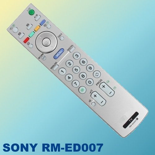 Replacement Remote Control For Sony RM-ED007