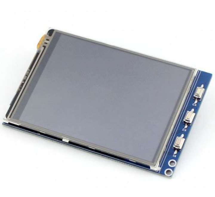 "3.2"" LCD (B) (320x240), Resistive Touch Screen LCD"
