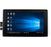 "7"" HDMI LCD (H) (1024x600), Capacitive Touch Screen with Black Case"