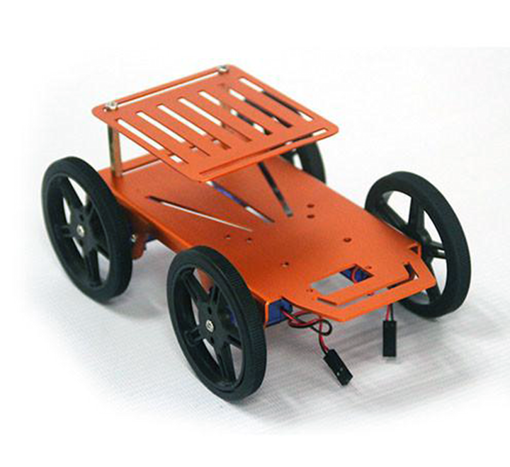 4-Motor Drive System Smart Robot Car Chassis for Raspberry Pi and Arduino