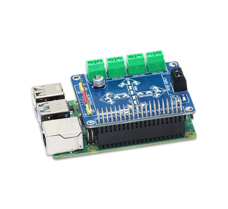 Motor Controller for the Raspberry Pi
