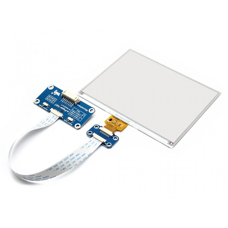 5.83inch 600x448 Resolution E-Ink Display HAT for Raspberry Pi