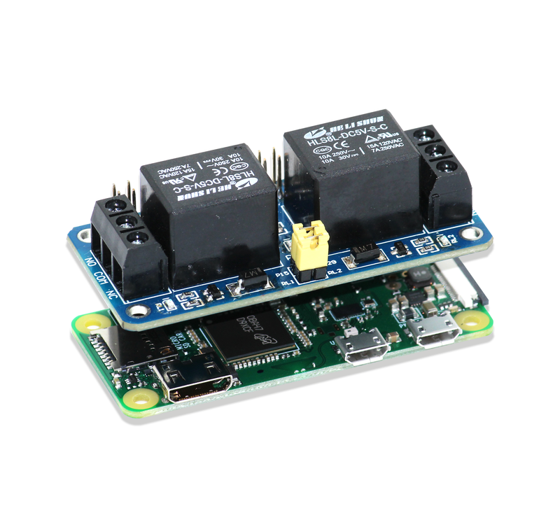 2 Channel 5V Relay Board for Raspberry Pi