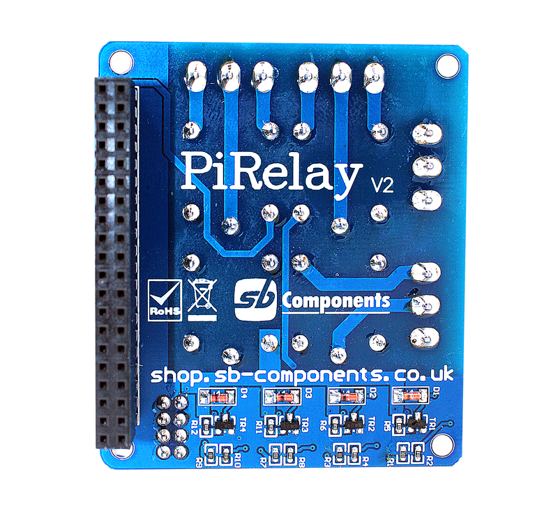 PiRelay v2 Relay for Raspberry Pi