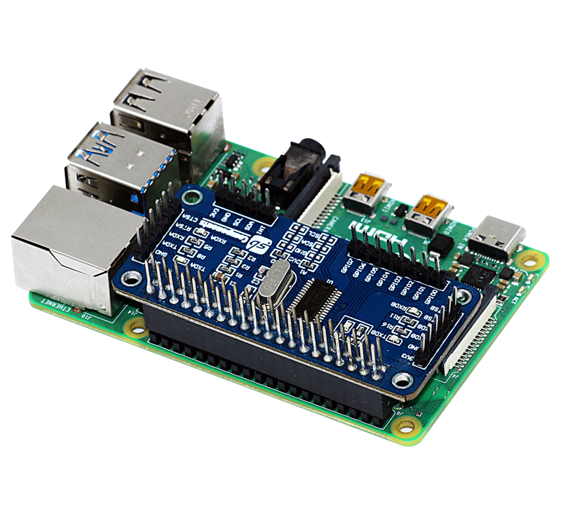 Serial Expansion for Raspberry Pi 3 b+