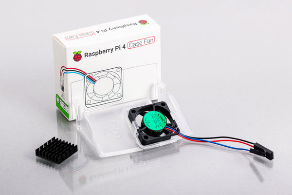 Raspberry Pi 4 Official Case Fan & Heatsink