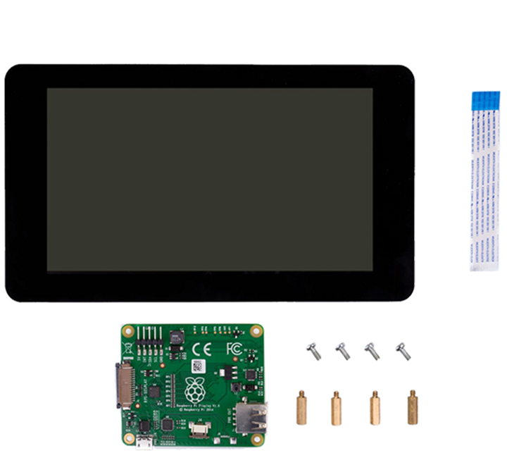 "Official Raspberry Pi 7"" Touchscreen Display"
