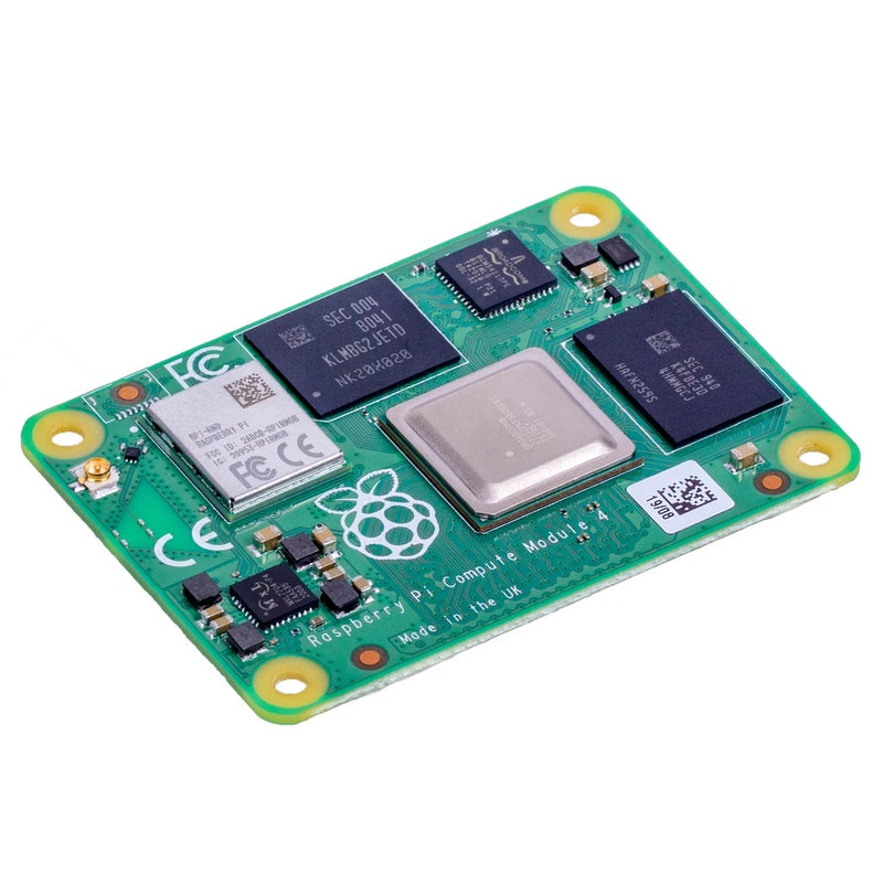 Raspberry Pi Compute Module 4 – Wireless / 4GB RAM / Lite