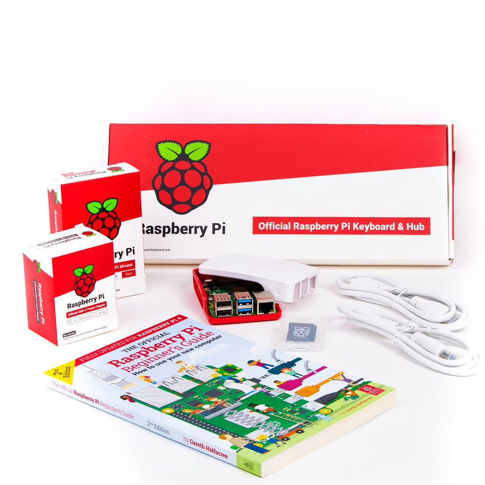 Raspberry Pi 4 Desktop Kit - India