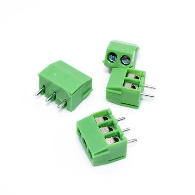 Screw Terminal Block 3 Pin 3.5 mm Pitch (Green)