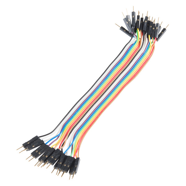 "Jumper Wires - 20 x 6"" Male-Male (pack of 20)"