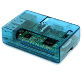 Raspberry Pi 2, 3, 3B+ Blue Open Case