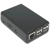 Raspberry Pi 2, 3, 3B+ Closed Case - Black