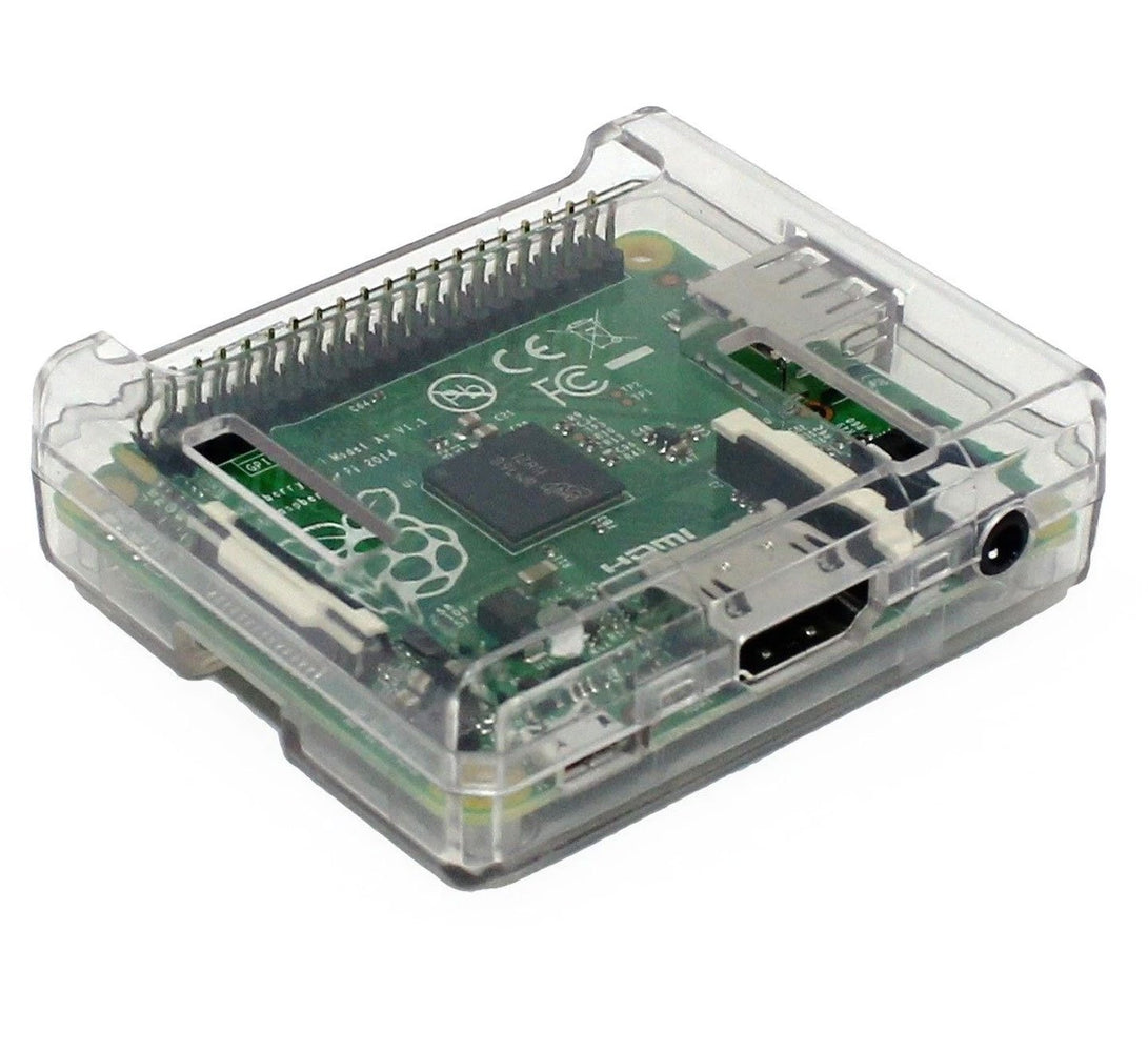 Raspberry Pi Model A+ Clear Case