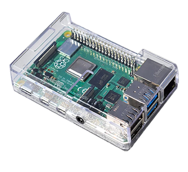 Raspberry Pi 4 Clear Case