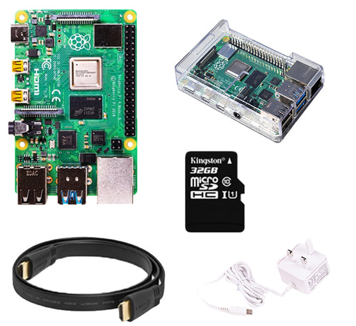 Raspberry Pi 4 Media Center Kit with 32GB MicroSD Card
