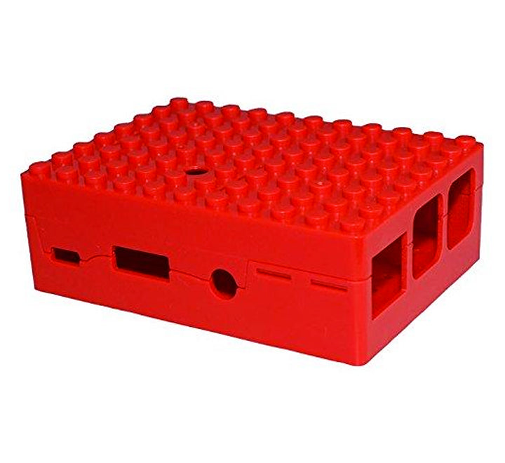 Raspberry Pi 2, 3, 3B+ Blox Case - Red
