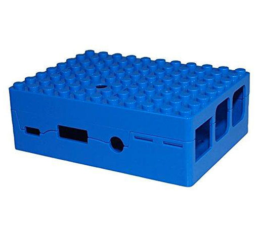 Raspberry Pi 2, 3, 3B+ Blox Case - Blue