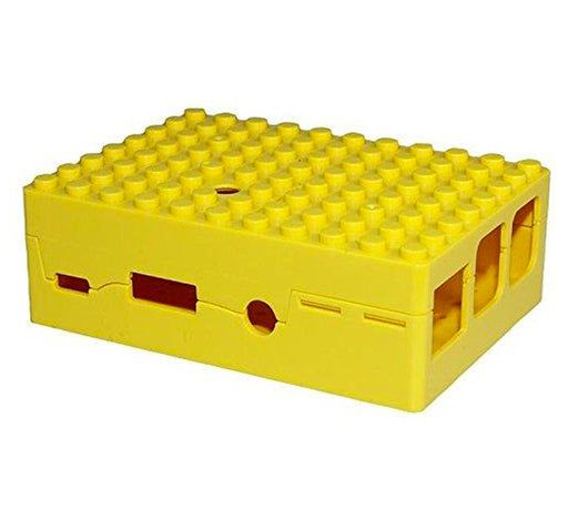 Raspberry Pi 2, 3, 3B+ Blox Case - Yellow